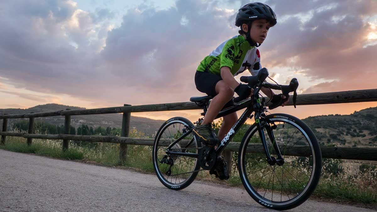 bicicleta de carretera para niños frog bikes
