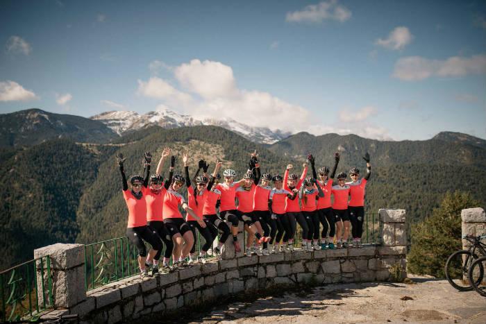 Clàudia Galicia MTB Camp
