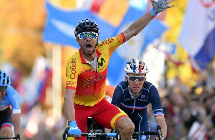 Alejandro Valverde se proclama Campeón del Mundo en Innsbruck