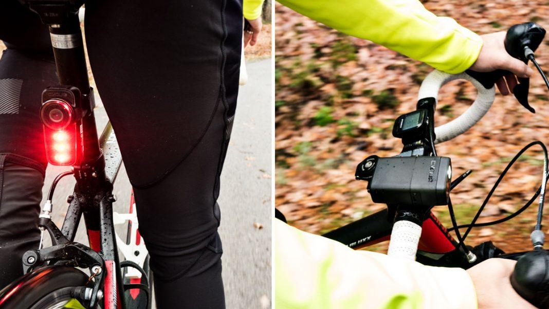 cámara de seguridad para ciclistas que graban todo lo que sucede mientras montas en bicicleta fly6 y fly12 de cycliq