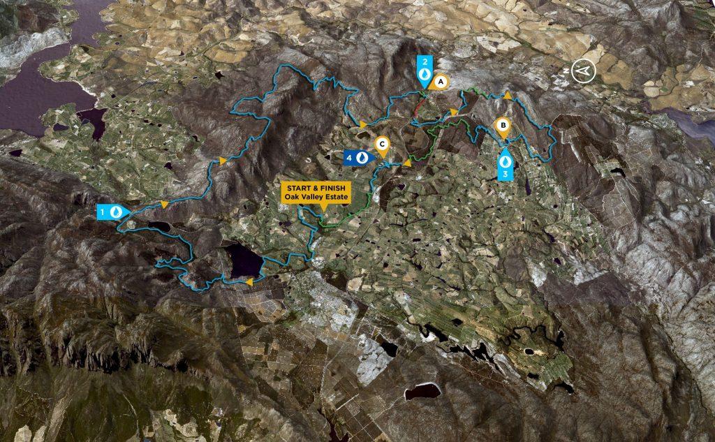 mapa de la tercera etapa de la absa cape epic 2019