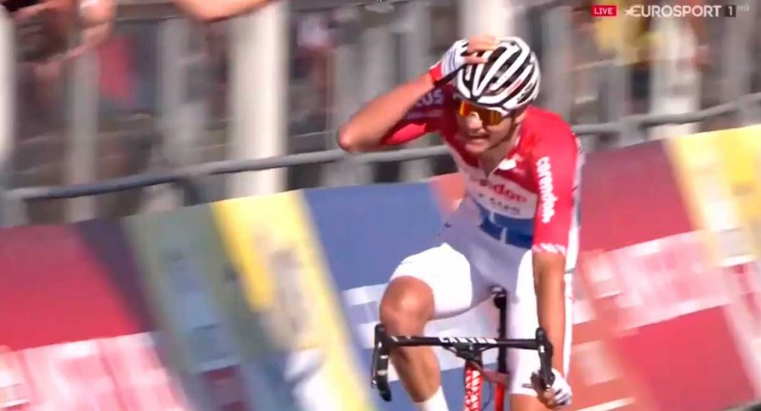 victoria en la Amstel Gold Race 2019: de van der Poel