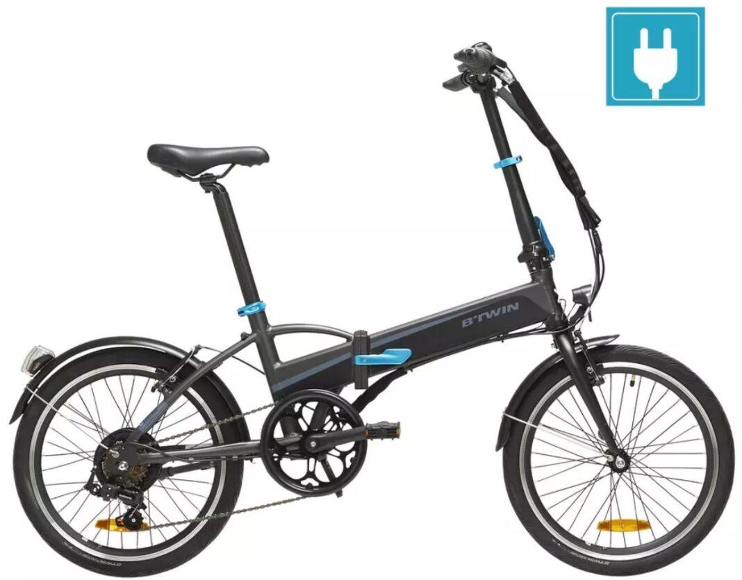bicicletas electricas plegables decathlon btwin TILT 500
