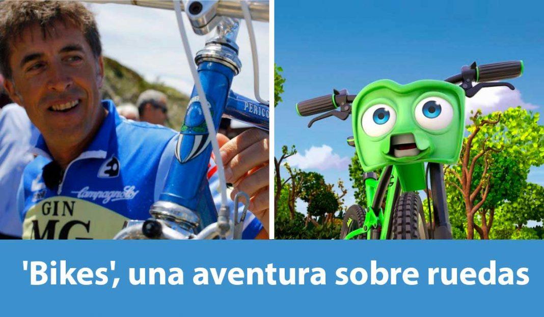 Pelicula Bikes una aventura sobre ruedas con pedro delgado