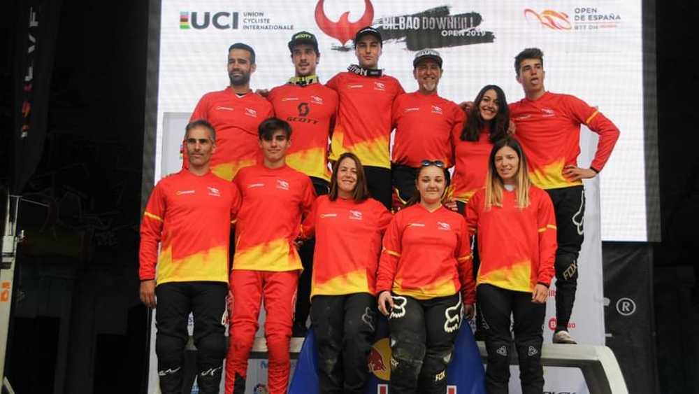 Bilbao Downhill 2019: Edgar Carballo y Veronika Widmann vencen en el Open de España de Descenso en bicicleta