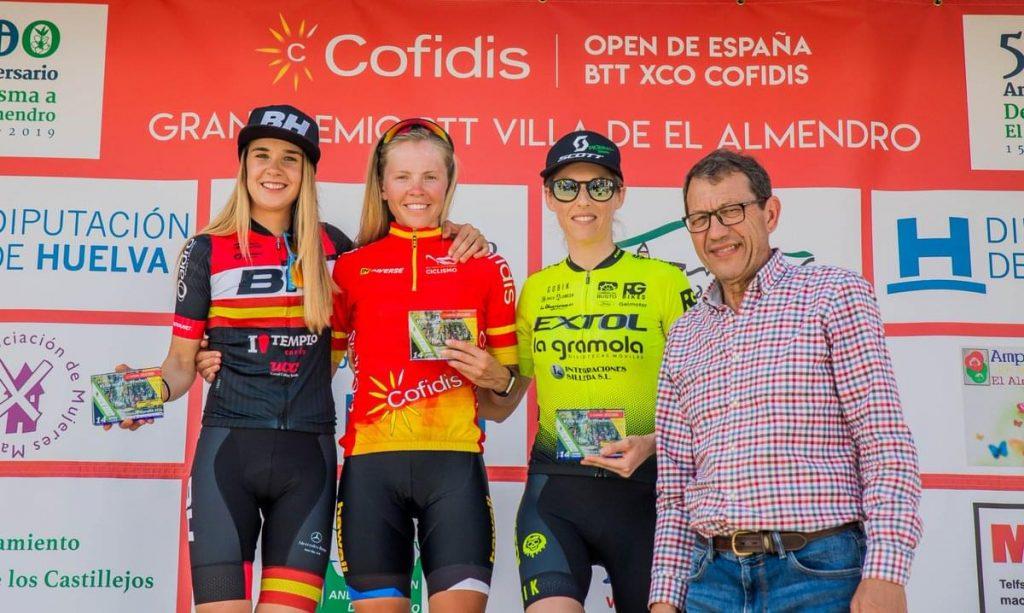 Clasificaciones Open de España XCO de bicicleta de montaña El Almendro