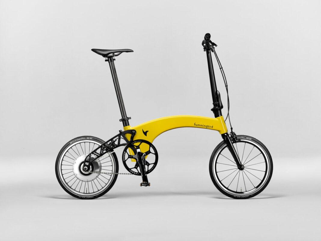 Hummingbird la bicicleta eléctrica plegable más ligera del mundo.