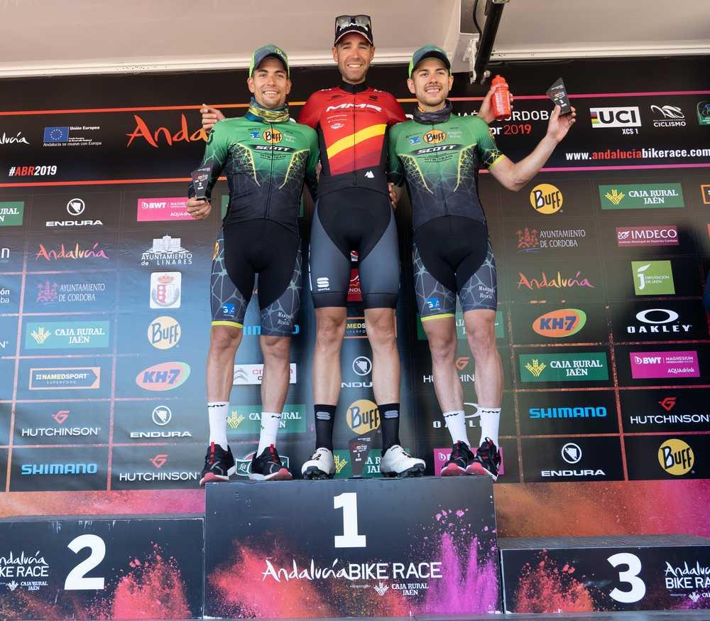 Andalucía Bike Race 2019: David Valero más líder a falta de una etapa