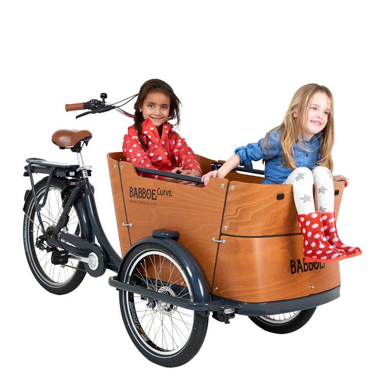 bicicleta de carga babboe cargo bike