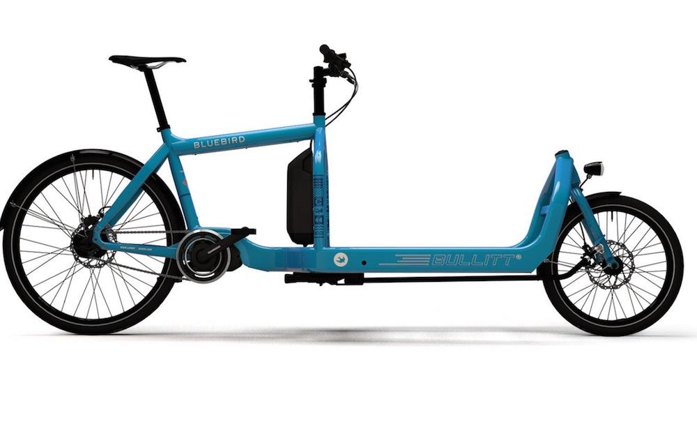 bicicleta de carga frontal