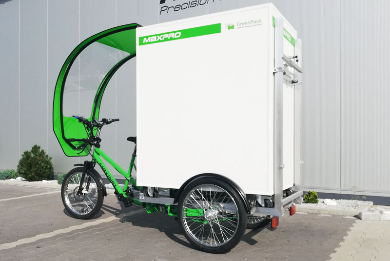 bicicleta de carga maxpro