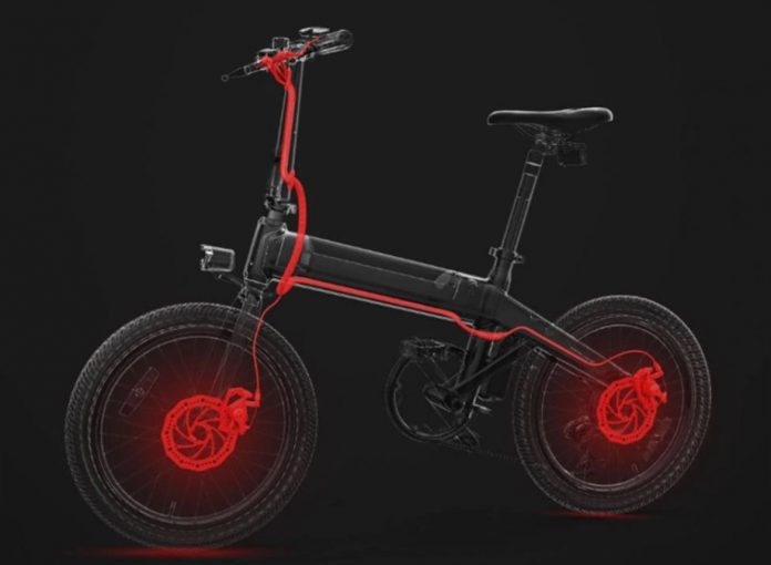 nueva bicicleta electrica plegable xiaomi c20