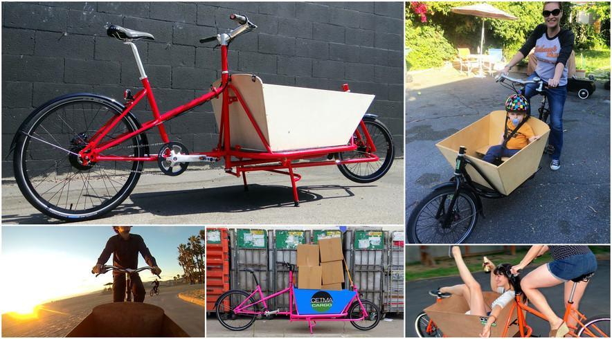 bicicleta de carga cetma cargo