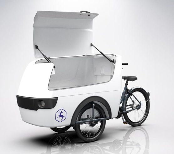 bicicleta de carga centaur cargo