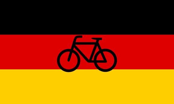 Maracas de bicicletas alemanas