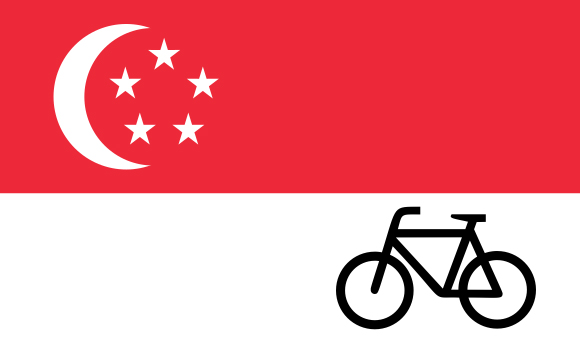 marcas de bicicletas de singapur