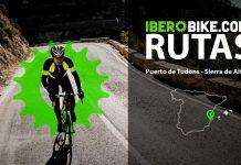 ruta en bicicleta subida al puerto de tudons alto de aitana