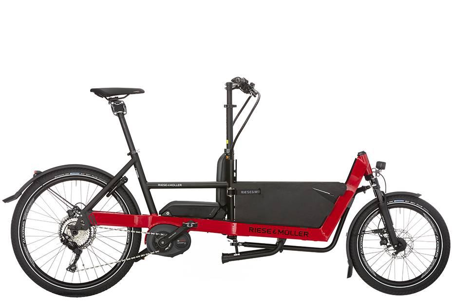 bicicleta de carga riese and muller