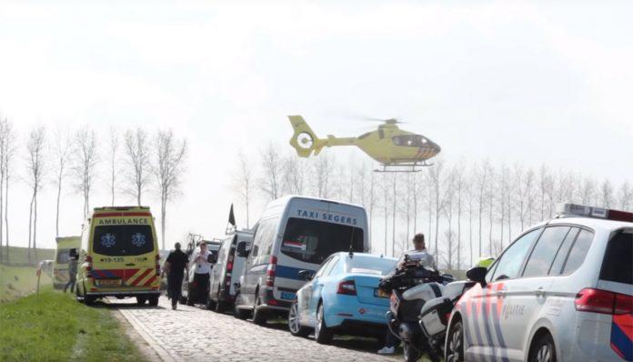 El ciclista Robbert de Greef sufrió un infarto mientras disputaba la prueba Omloop van de Braakman sobre un recorrido de 190 kilómetros.