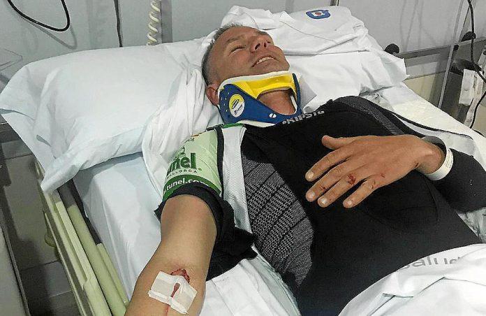 Un ciclista gravemente herido al partirse su bicicleta mientras entrenaba en Mallorca