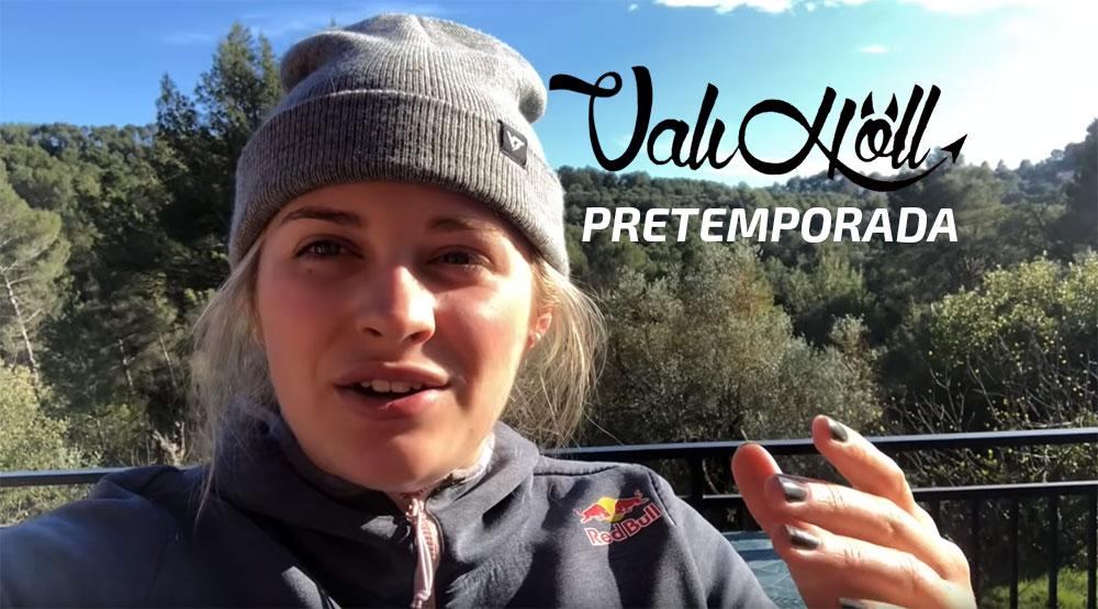 Video: La pretemporada de la Joven austriaca Valentina Höll y con su bicicleta Young Talen Industries