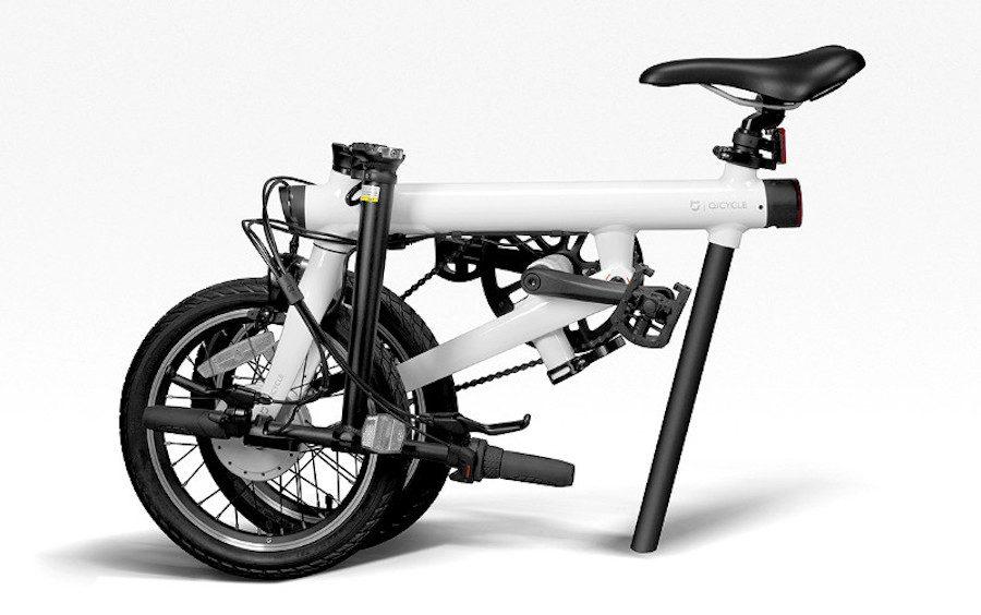 bicicletas eléctricas plegables xiaomi QiCycle
