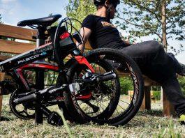 Bicicleta eléctrica Plegable de carbono Ebroh Pasione