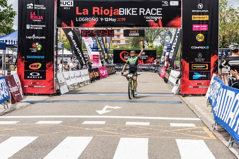 Jose Mari Sánchez, ganador etapa 2 la rioja bike race 2019Jose Mari Sánchez, ganador etapa 2 la rioja bike race 2019