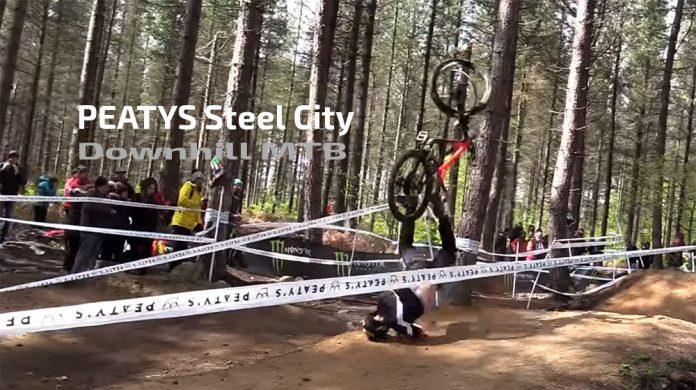 PEATYS-Steel-City-Downhill-MTB-caidas-bicicleta-salto-descenso