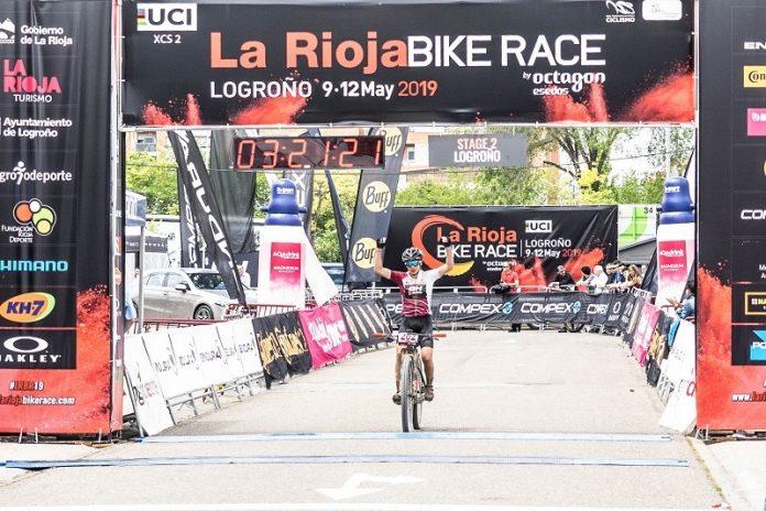 Jose Mari Sánchez, ganador etapa 2 la rioja bike race 2019