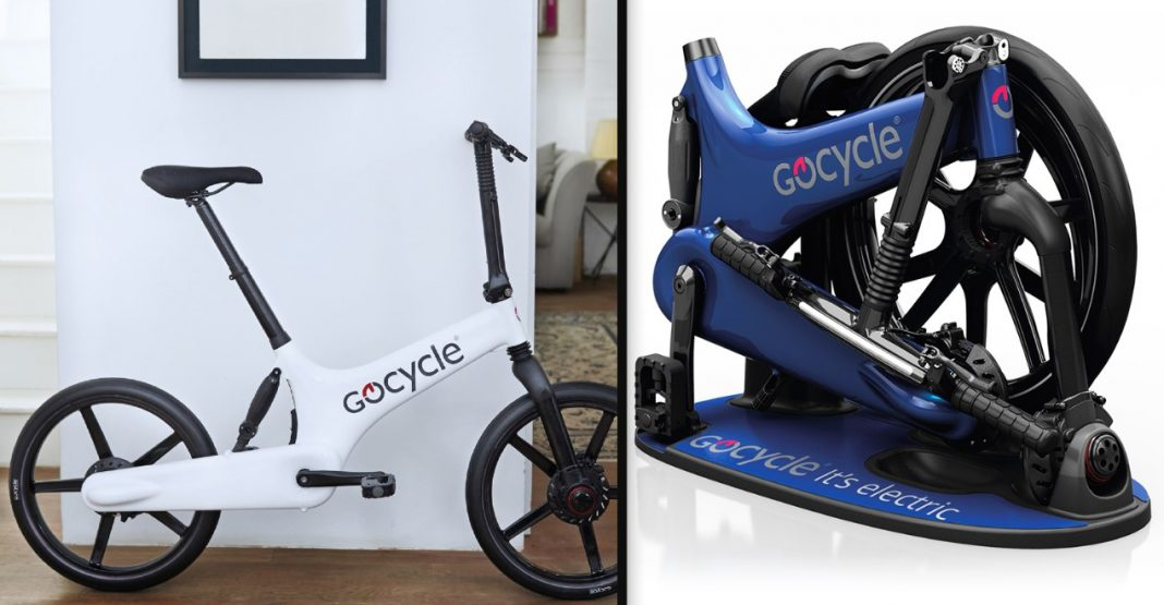 bicicleta eléctrica plegable gocycle