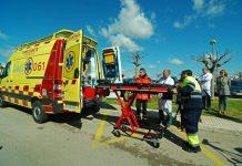 ciclista-infarto-fallecido-muere-mallorca-bicicleta-uvi-movil-061-ambulancia