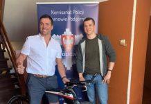 robo bicicleta triatlon recuperada en polonia bici ladron