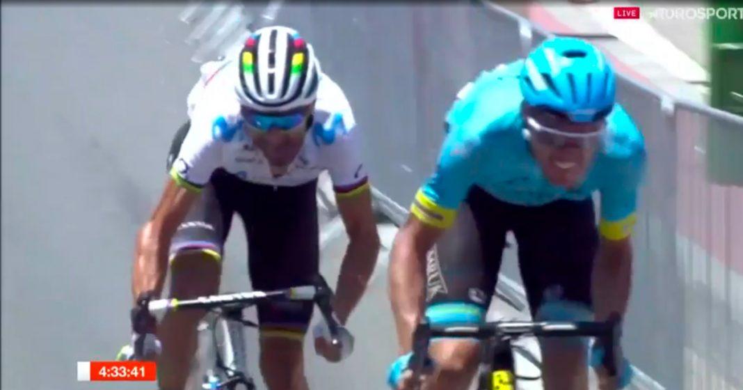 alejandro valverde gana el campeonato nacional de ciclismo en ruta