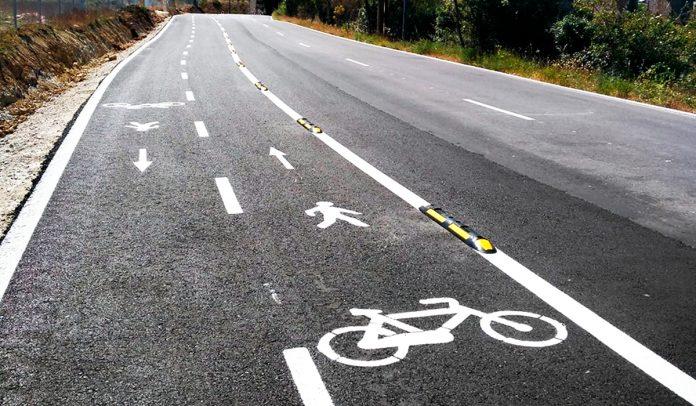 carril bici peligroso