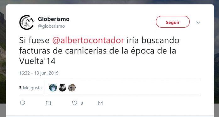 dopaje alberto contador doping eurosport twitter