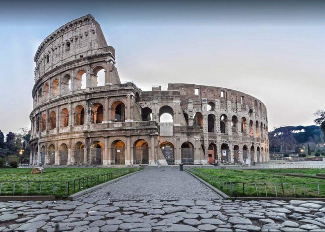 roma-adoquines-calzada-romana-bicicleta-bici-ciclismo-sampietrini-empedrado-coliseo