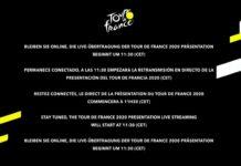 en directo la presentacion del tour de francia 2020
