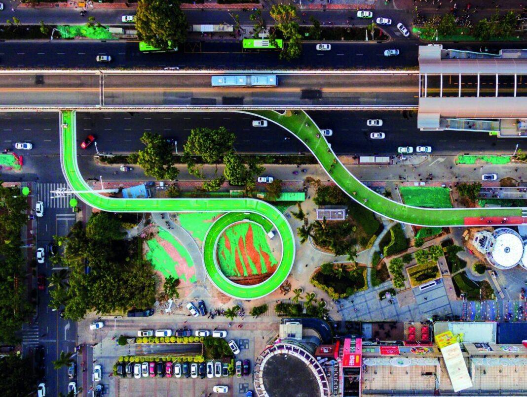 Xiamen Bicycle Skyway | Dissing+Weitling (Xiamen, China)