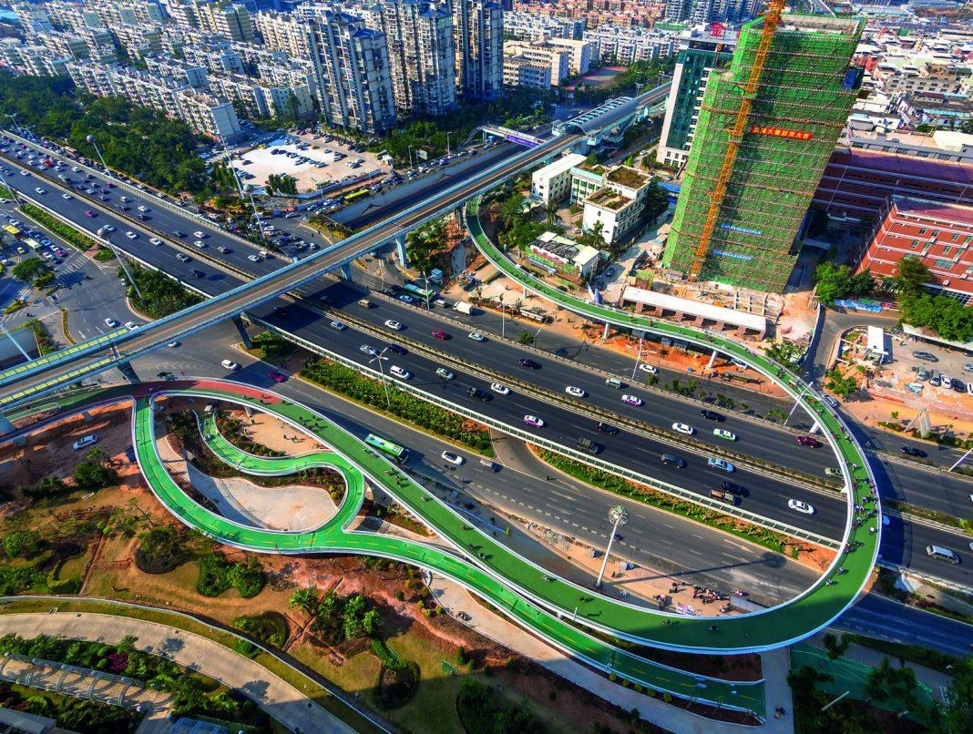 arquitectura de la ciudades para bicicletas