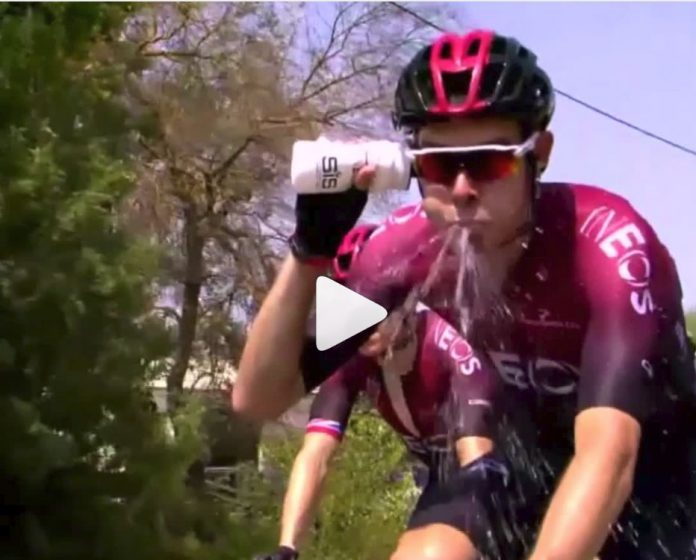 El-secreto-mejor-guardado-del-Team-Ineos-del-Tour-de-Francia-2019-video-bote-agua