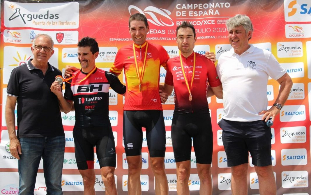 claudia galicia david valero campeones españa mountain bike xco 2019