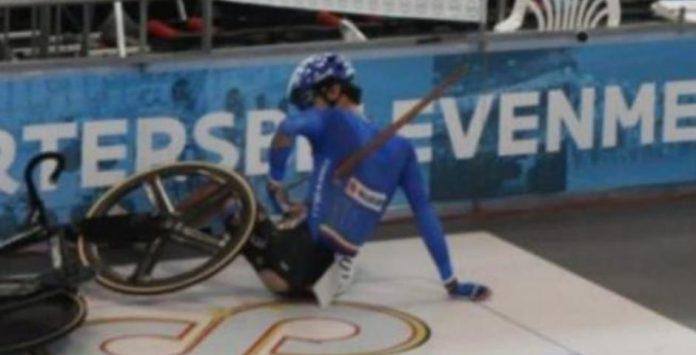 pulmon-perforado-ciclista-pista-17-años-caída-velodromo-madera-atraviesa-pecho-bicicleta-foto