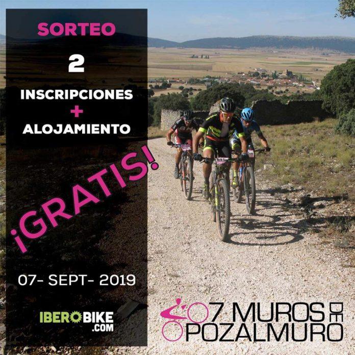 Sorteo: Dos inscripciones y alojamiento gratis para Marcha 7 Muros de Pozalmuro