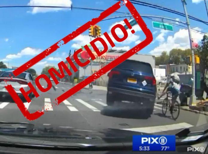Acusado de homicidio imprudente en el atropello del ciclista español en Nueva York