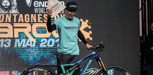 Tomi Misser campeón del mundo de Descenso con la Orbea Rallon de Enduro