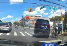 Vídeo: Duras imágenes de un ciclista español arrollado por un coche en Nueva York