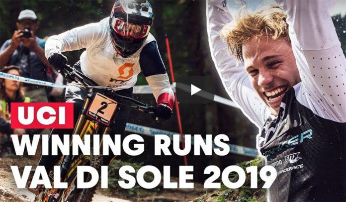 Vídeo-La-Serpiente-Negra-los-impresionantes-descensos-en-bicicleta-de-montaña-de-Val-Di-Sole-WC-2019