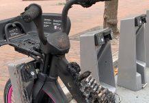 Varias-bicicletas-eléctricas-de-alquiler-se-incendian.-Fallo-técnico-o-intencionado-lyft-bici-bateria-fuego