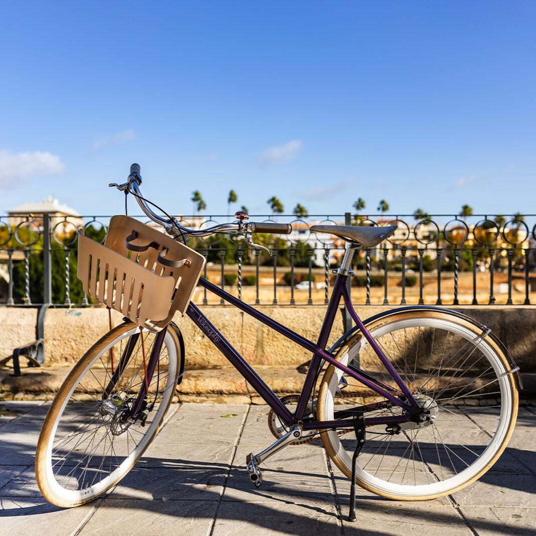 bicicleta de aluminio reciclado de capsulas nespresso